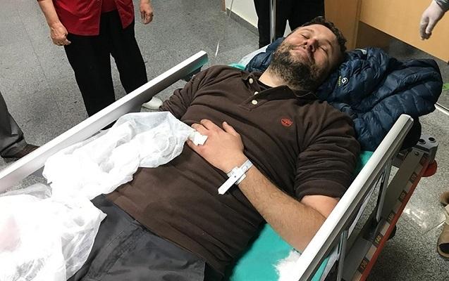Türkiyəli jurnalist Afrində yaralandı
