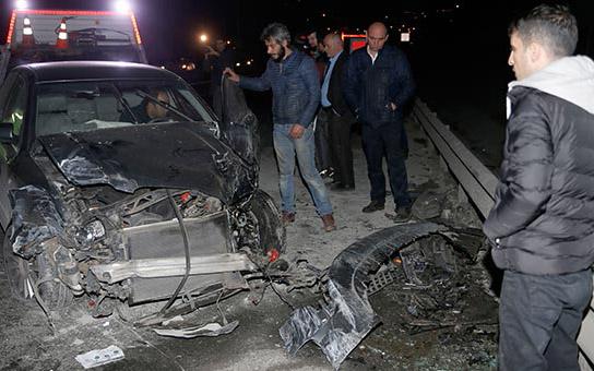 Türkiyədə zəncirvari qəza, 12 yaralı