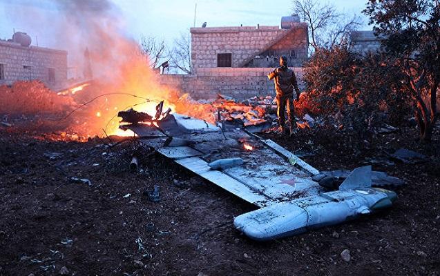 Suriyada Rusiya qırıcısı vuruldu