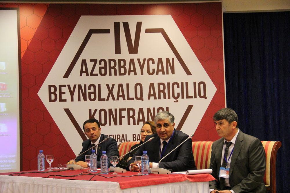 IV Azərbaycan Beynəlxalq Arıçılıq konfransı keçirilib