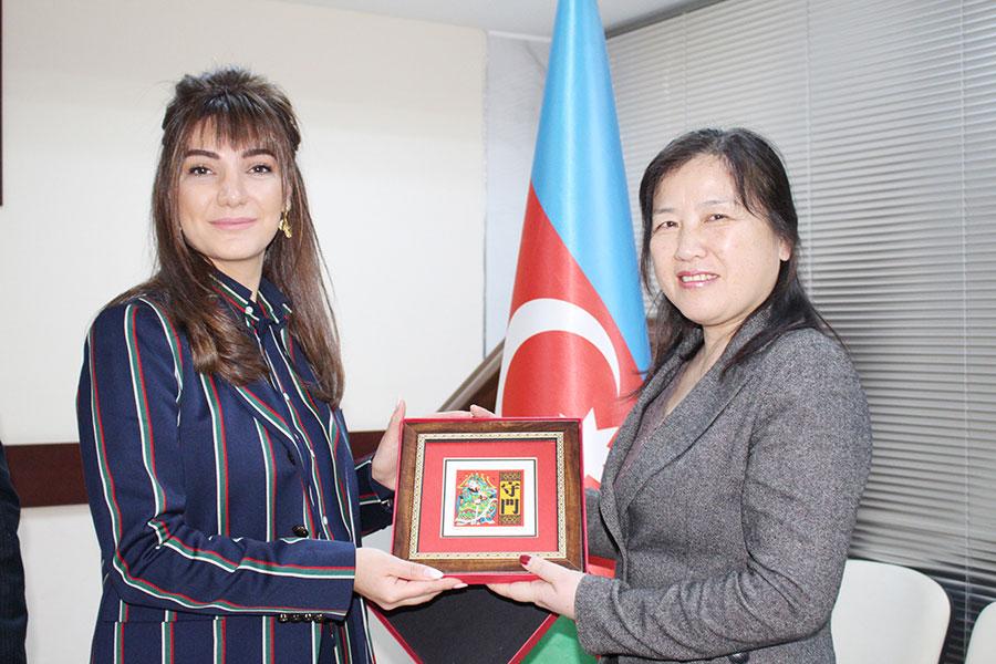 Azərbaycan Universiteti Konfutsi İnstitutu ilə əməkdaşlığa başlayır