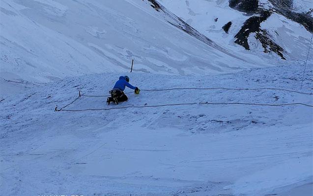 Alpinistlərin axtarışının yeni mərhələsi başladı