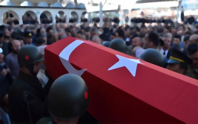 Türkiyə əsgərlərinə hava hücumu