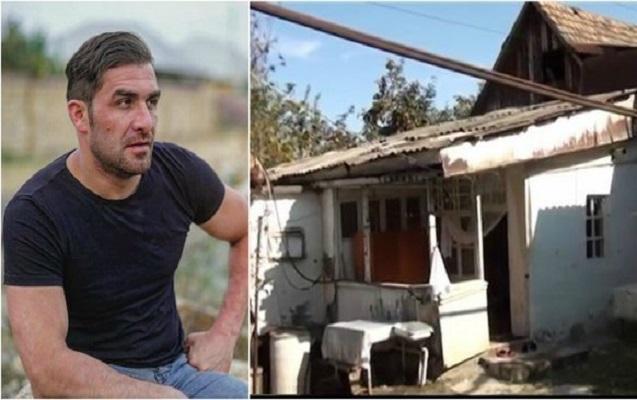 Talıb Tale atasının sökülən evindən danışdı