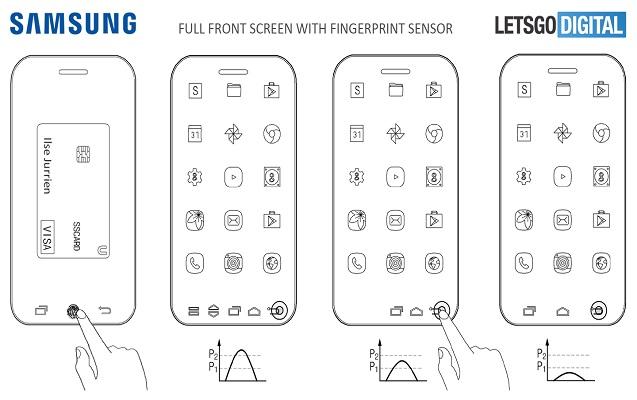 """""""Samsung"""" tam çərçivəsiz smartfonun patentini aldı"""
