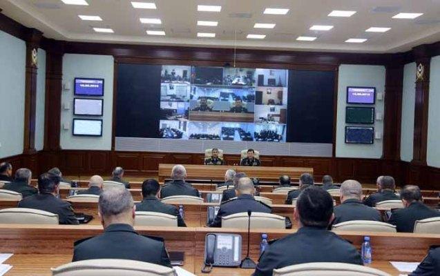 Zakir Həsənov döyüş hazırlığı ilə bağlı tapşırıq verdi