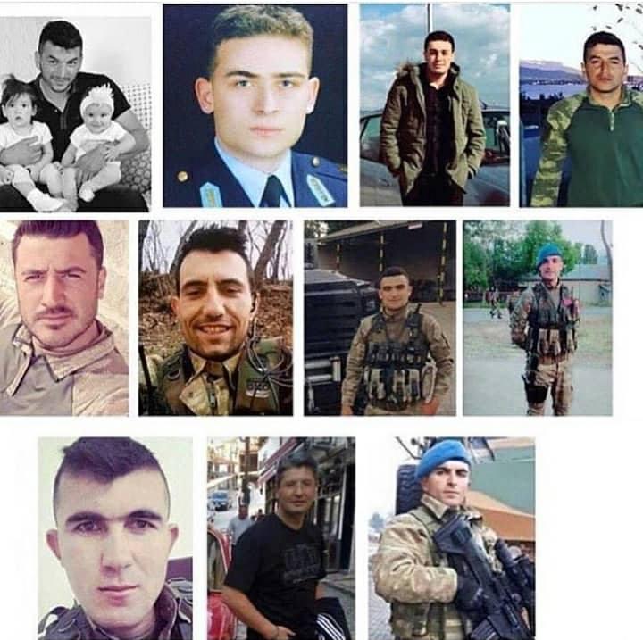 Qardaş ölkə yasda - Bir günə 11 şəhid verdi + Foto