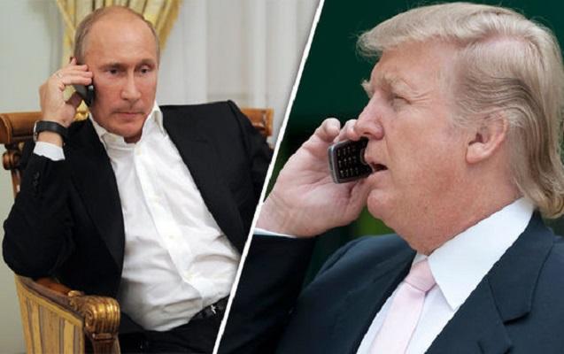 Tramp Putinlə telefonda məsləhətləşdi