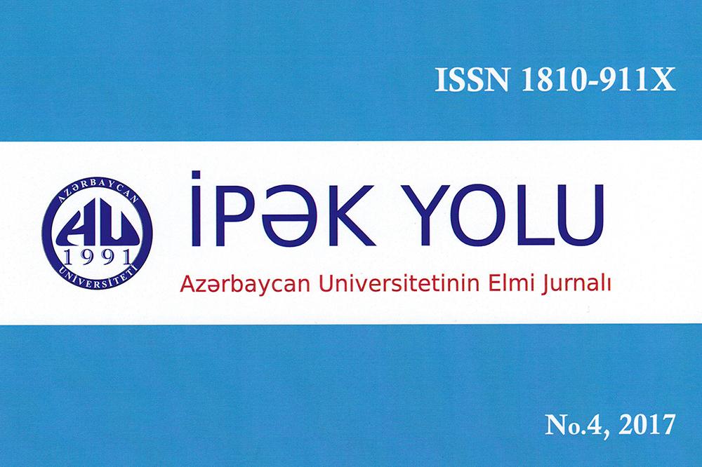 """""""İpək Yolu"""" jurnalı Rusiyanın elmi istinad bazasında indekslənir"""