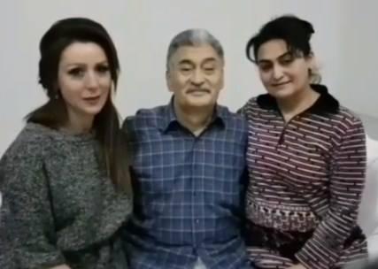 Ölən xalq artistinin son görüntüləri...