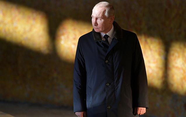Putin soyuqdəyməyə görə ictimai yerlərə çıxmır
