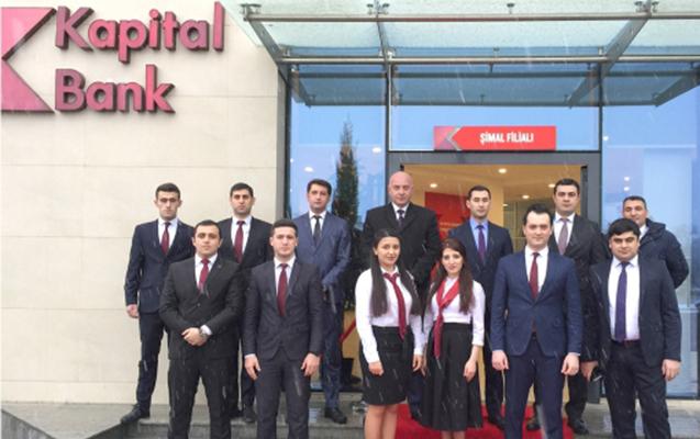 Kapital Bank-ın yeni Şimal filialı istifadəyə verildi