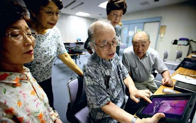 Yaponiya yaşlıları itirmək istəmir