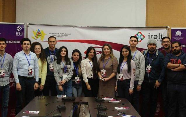 """""""Virtual Məkanda Azərbaycan"""" layihəsinin ilk təlimi baş tutub"""