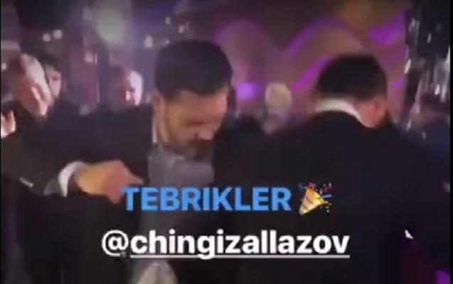 """Zabit Səmədov """"ləzginka"""" oynadı"""