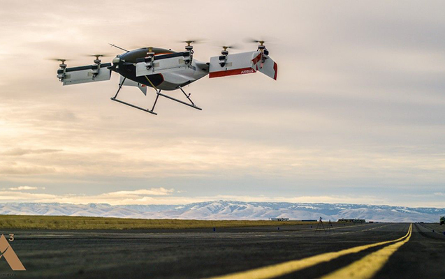 Airbus ilk uçan taksisini hazırladı