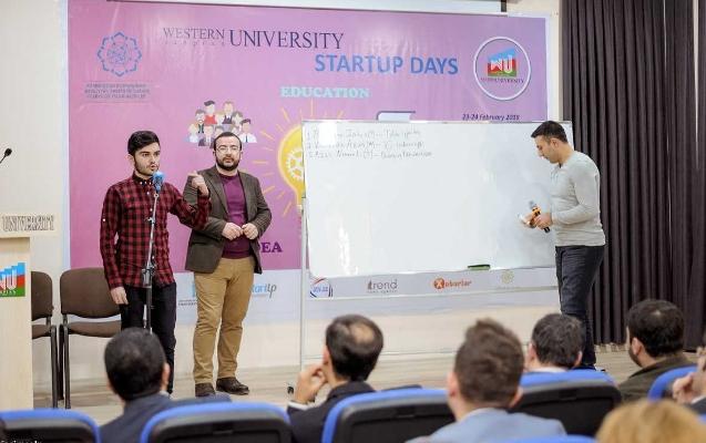 Qərbi Kaspi Universitetində Startup Günləri başlayıb