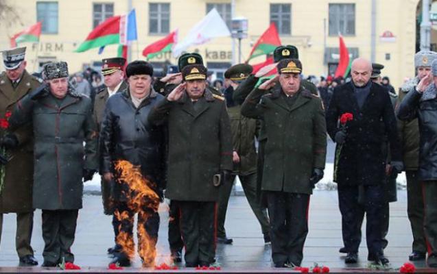 Zakir Həsənov Belarusda təltif edildi