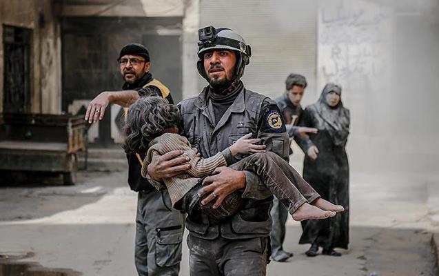 Əsəd rejimi Qərbi Qutanı bombaladı