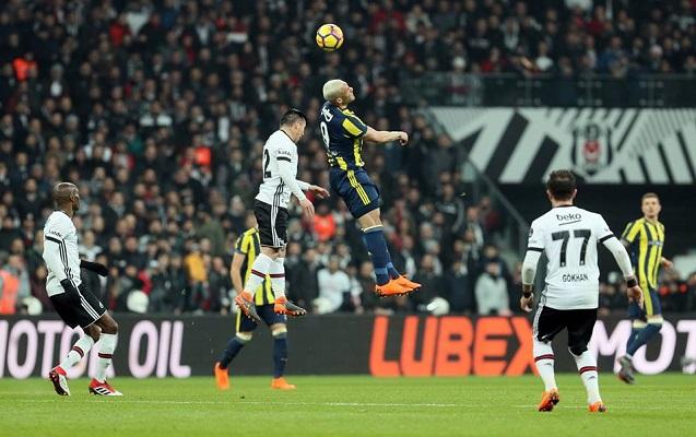 """""""Beşiktaş"""" - """"Fənərbağça"""" matçında 4 qol"""