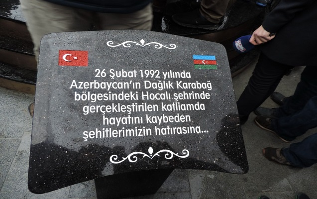 İstanbulda Azərbaycan Dostluq Parkı və Xocalı soyqırımı abidəsi açıldı