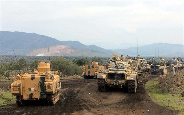 Ordu Afrinin şimalına girdi