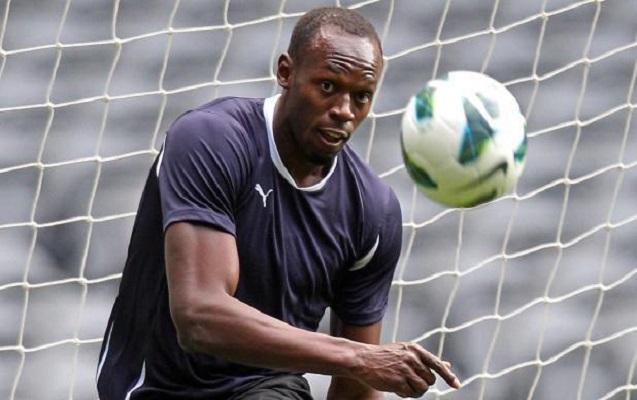 Useyn Bolt rəsmən futbolçu olur