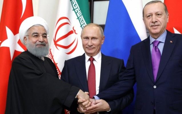 Putin, Ərdoğan və Ruhani İstanbulda görüşəcək