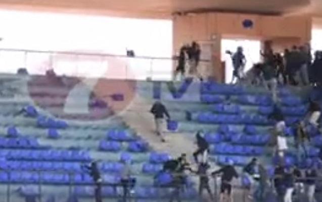 """Stadion """"cəhənnəmə"""" çevrildi"""