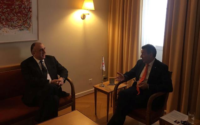 Elmar Məmmədyarov BQXK-nın prezidenti ilə görüşüb