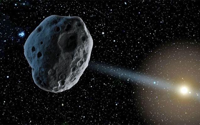 Asteroid gəlir, amma…