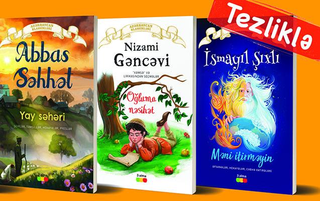 """TEAS Press """"Azərbaycan klassikləri""""ni çap edib"""