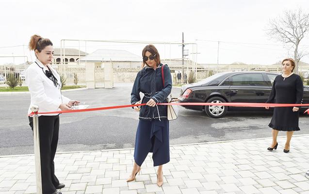 Mehriban Əliyeva körpələr evinin açılışında