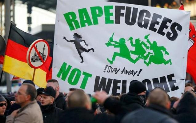 Almaniyada İslama qarşı hücumlar artır - 33 nəfər xəsarət alıb