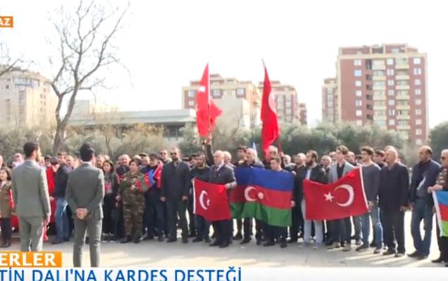 """Bakıdan """"Zeytun budağı"""" əməliyyatına dəstək"""