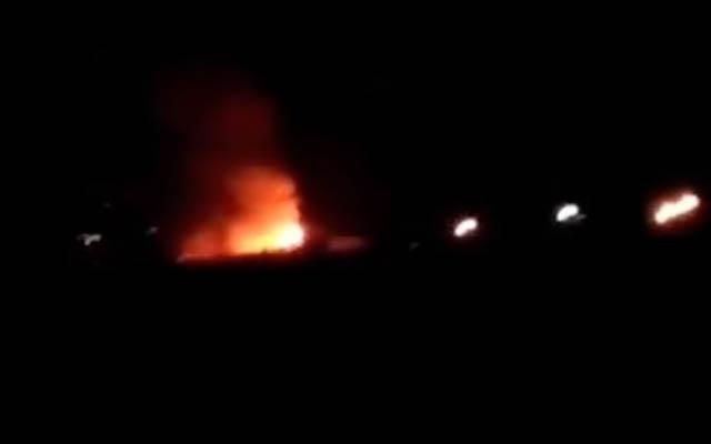 İranda hərbi bazada partlayış olub
