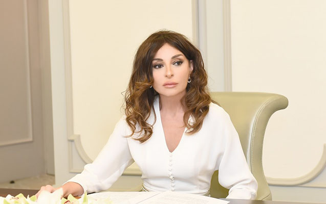 Mehriban Əliyeva Yaponiya baş nazirinin müşaviri ilə görüşüb