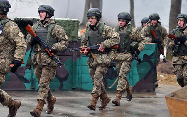 Ukraynada hərbi poliqonda yanğın, 1 ölü, 7 yaralı