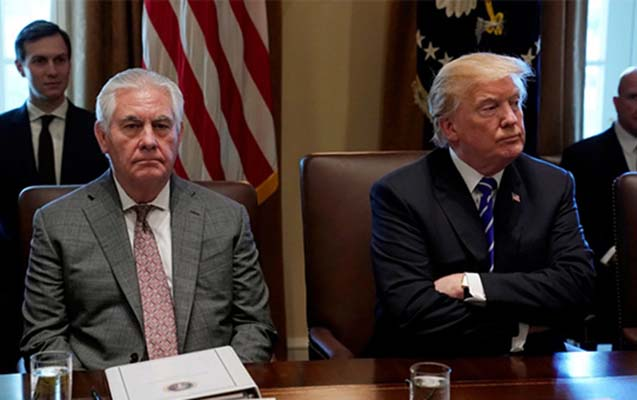 Trampdan şok qərar - Tillersonu işdən çıxardı, CİA-ya ilk dəfə...