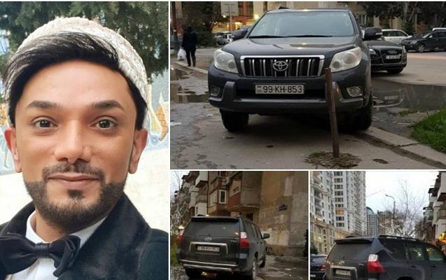 Xalq artisti qayda pozan sürücüyə görə Yol Polisinə çağırış etdi - Fotolar