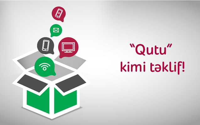 """İnternet, TV, mobil rabitə bir """"Qutu""""da"""