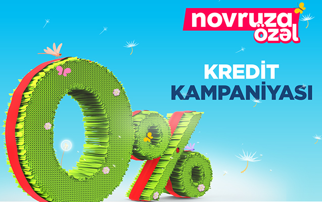 "Bank of Baku-dan ""Novruza özəl 0% kredit"" kampaniyası"