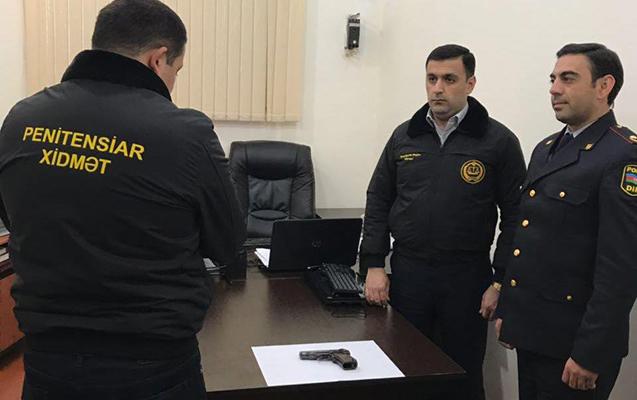 """Coratda """"Makarov"""" tapıldı"""
