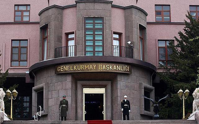 Türk ordusundan açıqlama