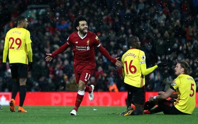 """Salah şou göstərdi, """"Liverpul"""" 5 -0 qalib gəldi"""