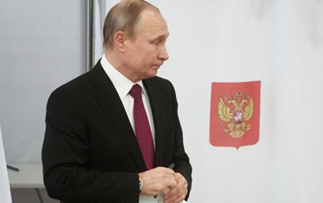 Putin səs verdi
