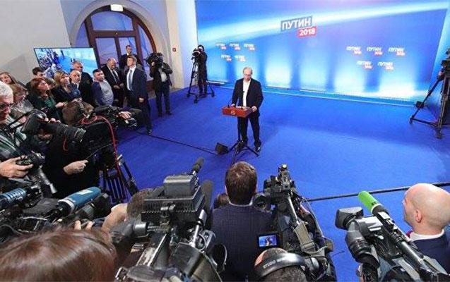 Putin kariyerası ərzində ən çox səs topladı