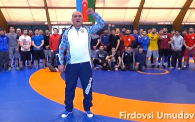 """Məşhur güləşçilərdən çağırış - """"İlham Əliyevə səs verək..."""" + Video"""