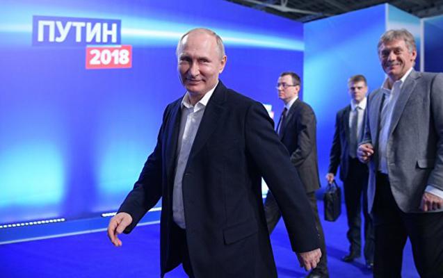 Putindən rekord göstərici