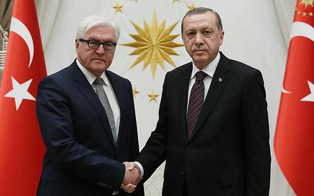 Erdoğan Ştaynmayerlə danışdı